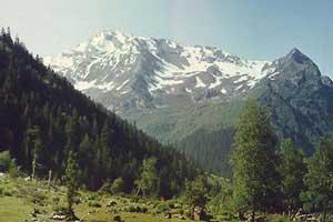 Снежная жемчужина Кавказа