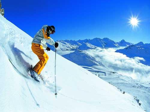 Прекрасный горнолыжный курорт в Австрии