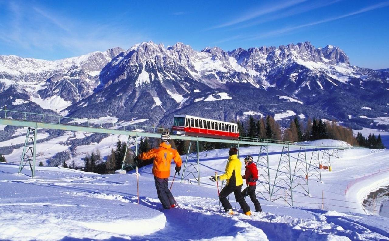 Австрийский горнолыжный курорт Эльмау